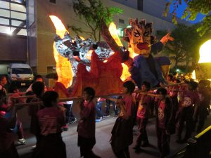札幌北高学校祭行灯行列3