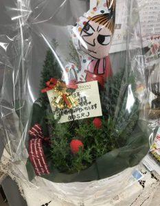 速読開講三周年記念のお花!