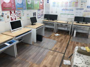 速読教室も改修作業